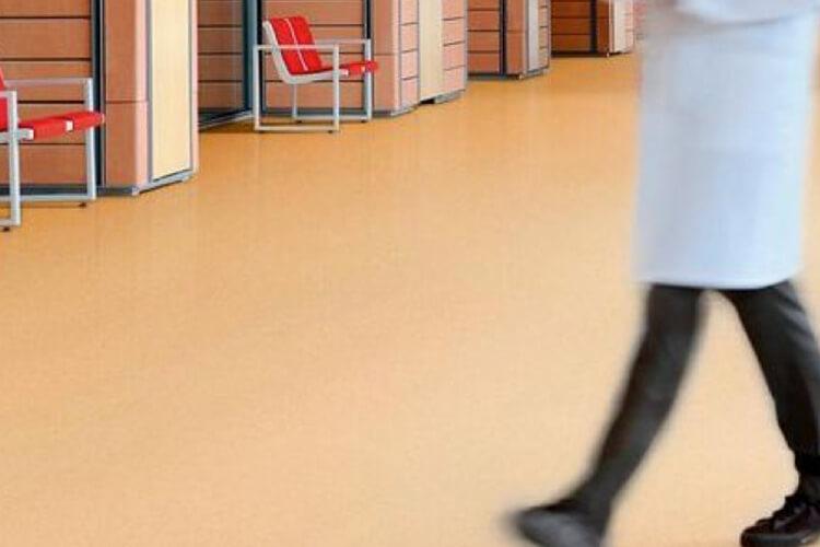 pisos para hospitales Gerflor Mipolam EL