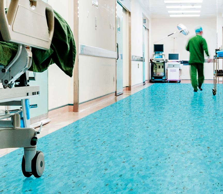 pisos para hospitales y quirofanos