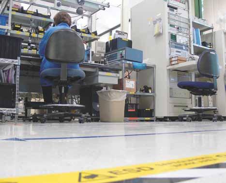 piso conductivo ameriworx esd series de staticworx