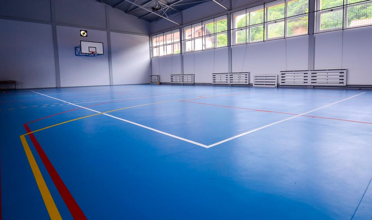 piso deportivo recreation cancha de basketball