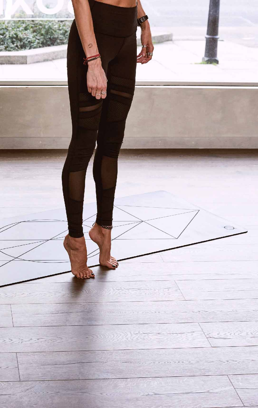 piso para area de yoga