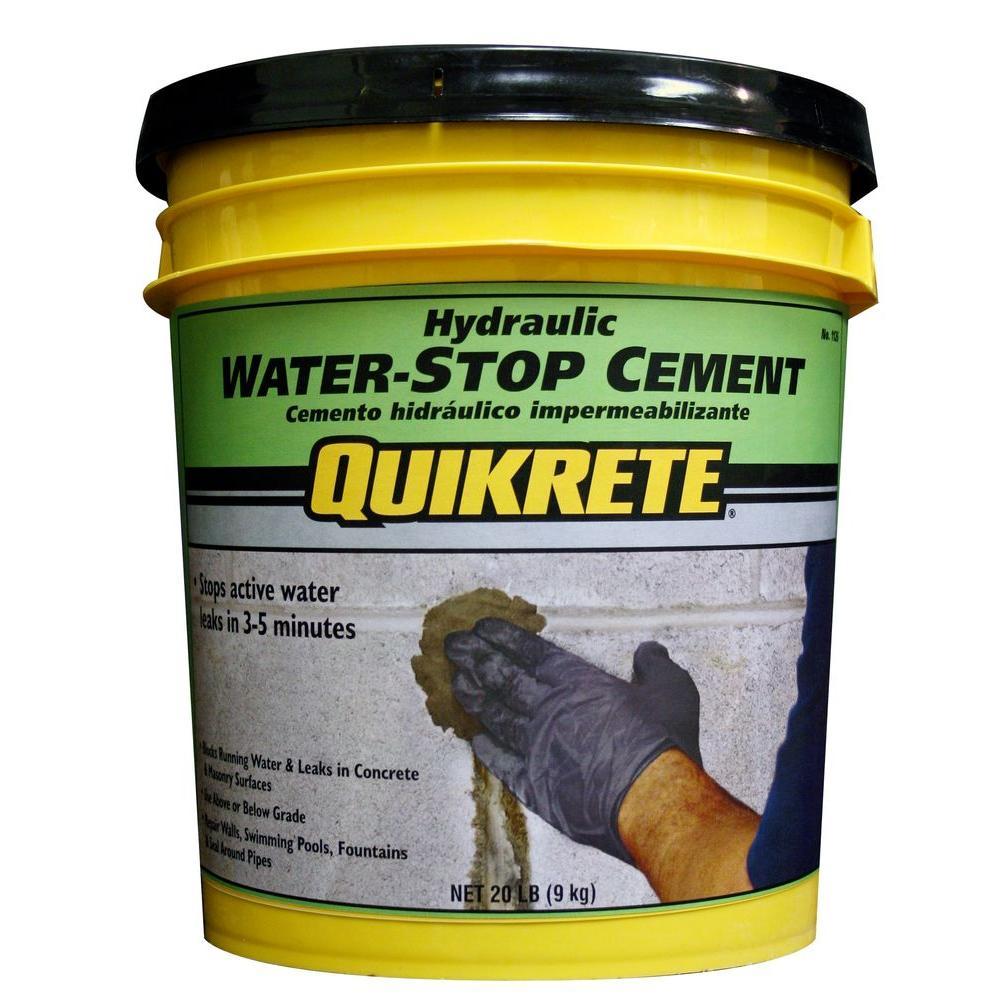 quikrete water stop cement