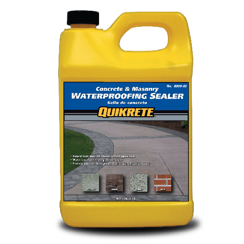 Quikrete waterproofing sealer