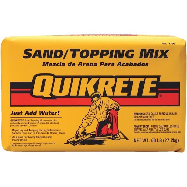 Sand Topping Mix Quikrete